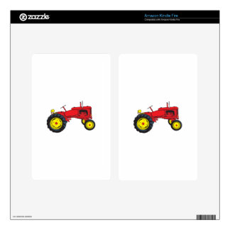 Classic Tractor Kindle Fire Skins