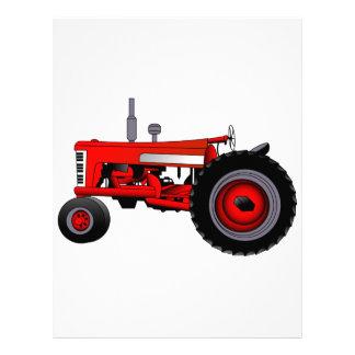 Classic Tractor Letterhead