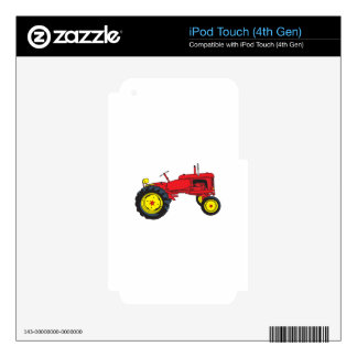 Classic Tractor Skin For iPod Touch 4G
