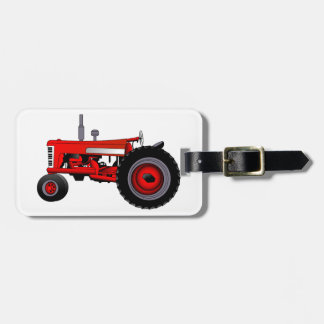 Classic Tractor Tag For Luggage