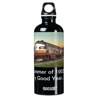 Classic Trains Thirst Quencher SIGG Traveler 0.6L Water Bottle
