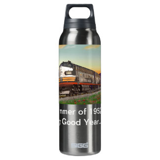 Classic Trains Thirst Quencher Thermos Bottle