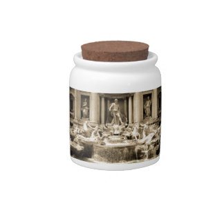 Classic Trevi Fountain Rome Candy Dish