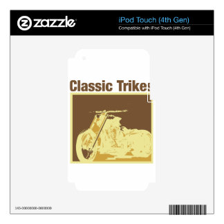 classic trikes iPod touch 4G decals