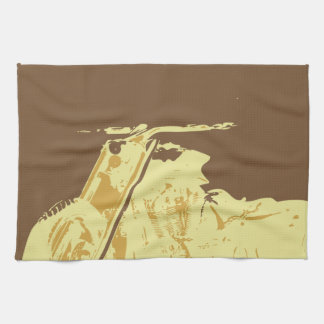 classic trikes kitchen towel