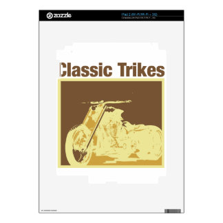 classic trikes skin for the iPad 2