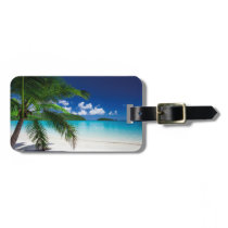 Classic Tropical Island Beach Paradise Bag Tag