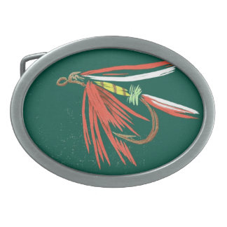 Classic Trout Fly Belt Buckle