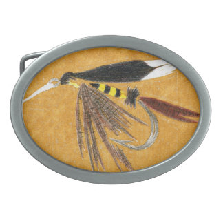 Classic Trout Fly Belt Buckle McGeanty