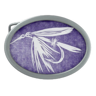 """Classic Trout Fly Belt Buckle """"Wet Fly"""""""