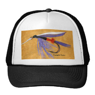 "Classic Trout Fly Hat ""Freight Train"""