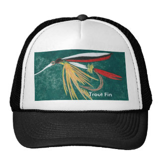 """Classic Trout Fly Hat """"Trout Fin"""""""