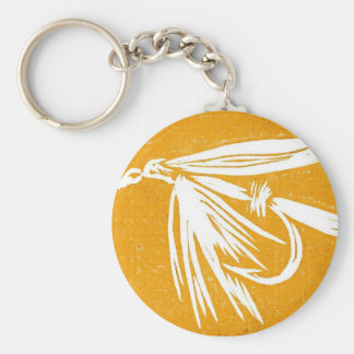 Classic Trout Fly Keychain