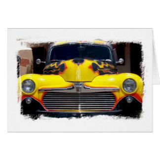 Classic Truck Art Card