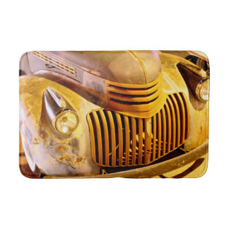 Classic Truck Front Grill and Headlight Bathroom Mat