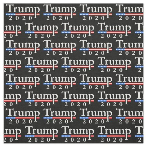 Classic Trump 2020 Pattern Fabric