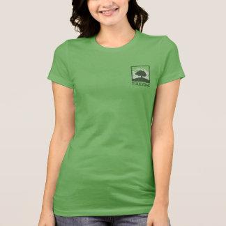 Classic Tuleyome Logo, Women's Bella Jersey T T-Shirt