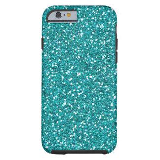 Classic Turquoise Print Tough iPhone 6 Case