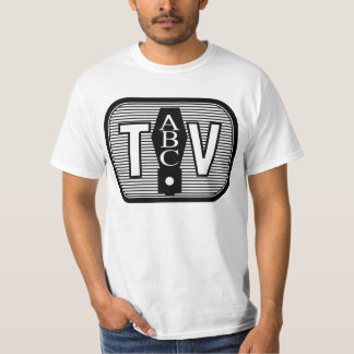 Classic TV Style Logo (Front) T-Shirt