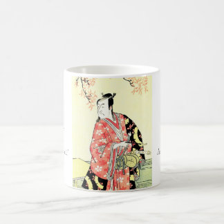 Classic ukiyo-e Traditional Japanese Samurai art Coffee Mug
