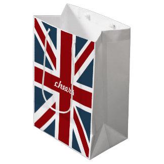Classic Union Jack Flag Medium Gift Bag