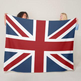 Classic Union Jack Flag Fleece Blanket