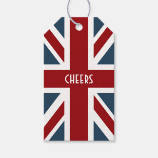 Classic Union Jack Flag Gift Tags