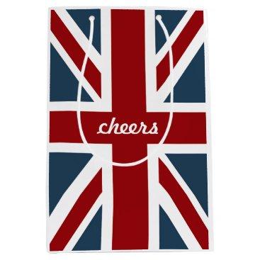 AnyTownArt Classic Union Jack Flag Medium Gift Bag