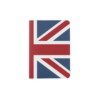 Classic Union Jack Flag Passport Holder