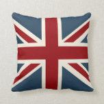 Classic Union Jack Flag Pillow