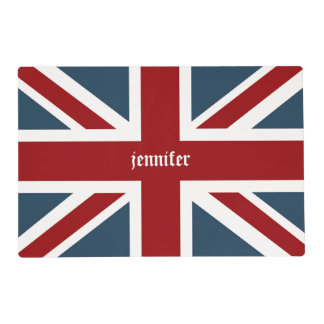Classic Union Jack Flag Placemat