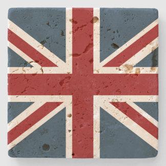 Classic Union Jack Flag Stone Coaster