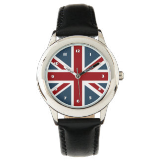 Classic Union Jack Flag Wrist Watches