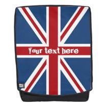 Classic Union Jack UK Flag Backpack