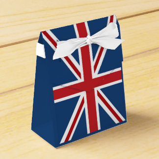 Classic Union Jack UK Flag Favor Box