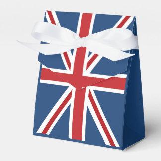 Classic Union Jack UK Flag Favor Box