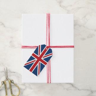 Classic Union Jack UK Flag Gift Tags