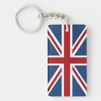Classic Union Jack UK Flag Keychain
