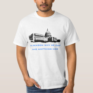 Classic US Capitol Government Corruption Tshirt