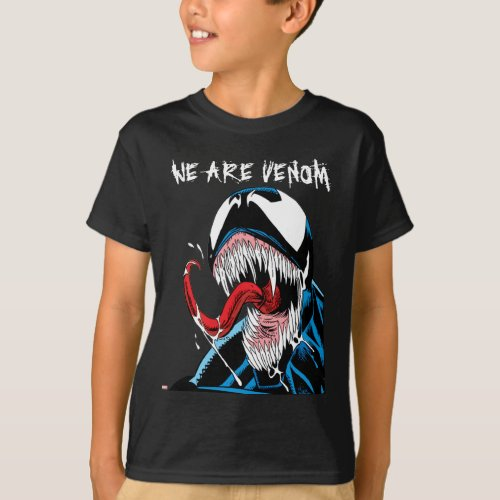 Classic Venom Lashing Tongue Comic Panel T_Shirt