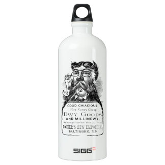 Classic Victorian Advertising Piece SIGG Traveler 1.0L Water Bottle