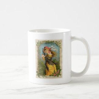 Classic Victorian Etching - Summer Shower Coffee Mug