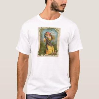Classic Victorian Etching - Summer Shower T-Shirt