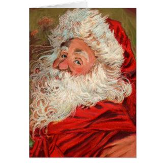 Classic Victorian Santa Claus Cards