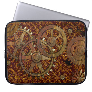 Classic Victorian Steampunk Computer Sleeve