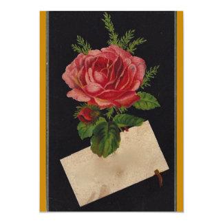 Classic Victorian Tea Rose Card