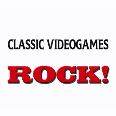 Classic Videogames Rock t-shirts