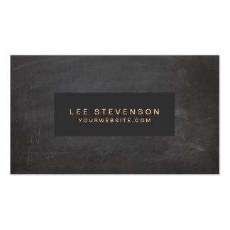Classic Vintage Black Rustic Business Card Templates