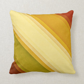 Classic Vintage Diagonal Stripe Pillow