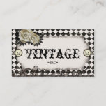 """Classic vintage inspired business cards<br><div class=""""desc"""">These business cards feature vintage retro design elements and classic patterns.</div>"""